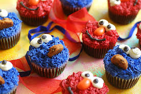 elmo cookie monster