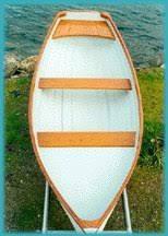 fiberglass rowboat