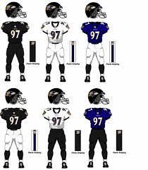 baltimore ravens uniforms
