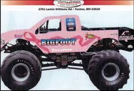pink monster truck
