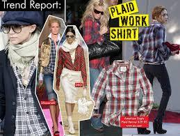plaid shirt trend