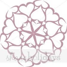 heart snowflake