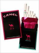 pink camel cigarettes