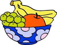 fruits cliparts