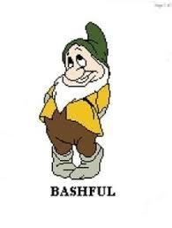 bashful snow white