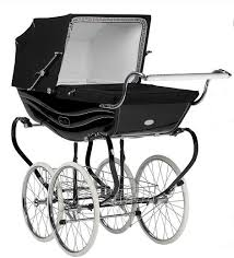 old silver cross prams