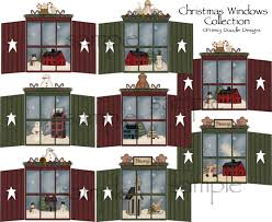 country christmas clip art