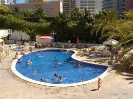 aguas azules hoteles