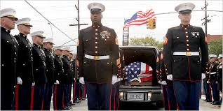 marines funeral
