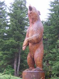 bear chainsaw carvings
