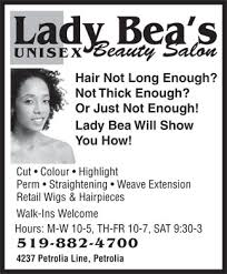 beauty salon advertisement