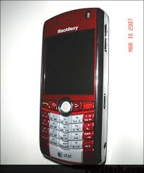blackberry 8100 red