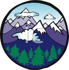 free mountain clip art
