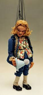 antique puppet