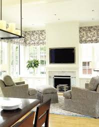 built in cabinets family room