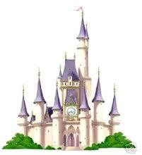 cartoon disney castle