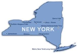 map of new york ny