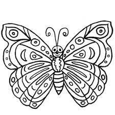 coloring pictures butterflies