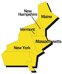 map of the northeast usa
