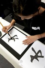 chinese calligraphy artwork