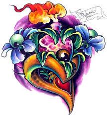tattoos color