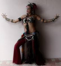 tribal fusion belly dance costume