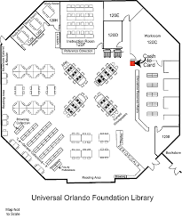 plans of library