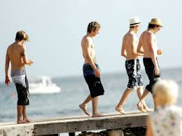 boys holiday