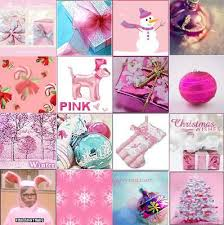 pink collages