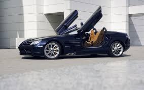 mercedes benz slr convertible