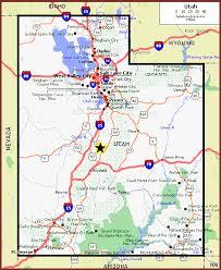 maps of utah