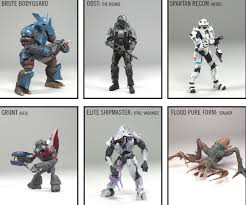 halo 3 recon action figures