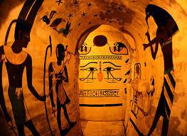 egyptian wall murals