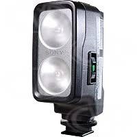 sony camera lights