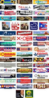 against obama bumper stickers