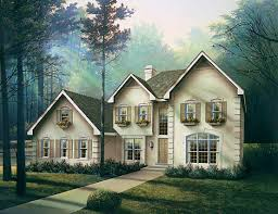 european house plans with photos