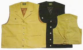 canvas vests