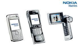 nokia n series mobile phone