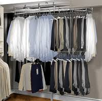 rotating closet