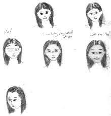 mean cartoon faces