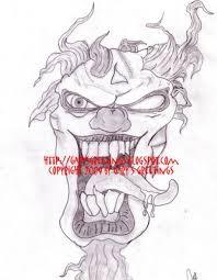 gangster clowns drawings