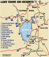 map of lake tahoe