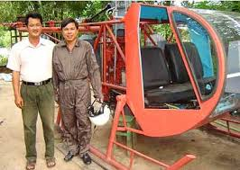 homemade helicopters