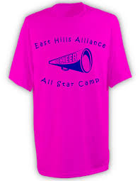 cheerleading t shirt