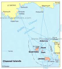 map of jersey channel islands