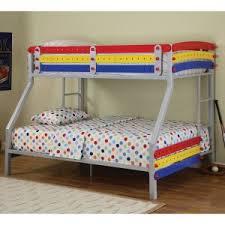 blue metal bunk beds