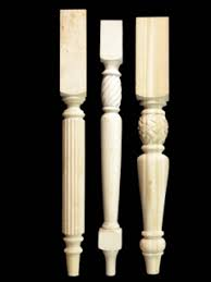 carved table legs