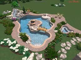 built in pools