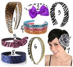 animal print headband