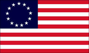 betsy ross first flag